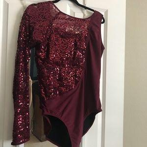 BNWT XL Sparkly Bodysuit